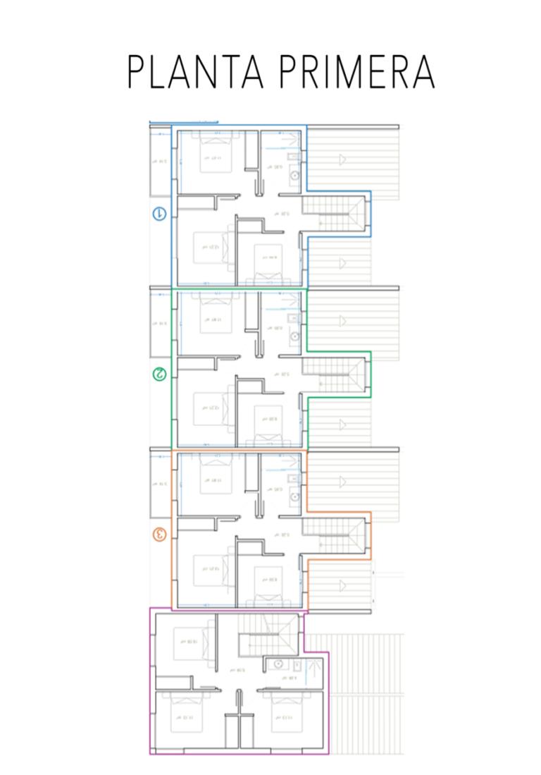 Primera planta viviendas El Herrumblar